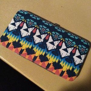 Cute tribal wallet